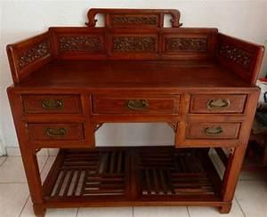 Bureau Ancien En Bois : bureau ancien clasf ~ Carolinahurricanesstore.com Idées de Décoration