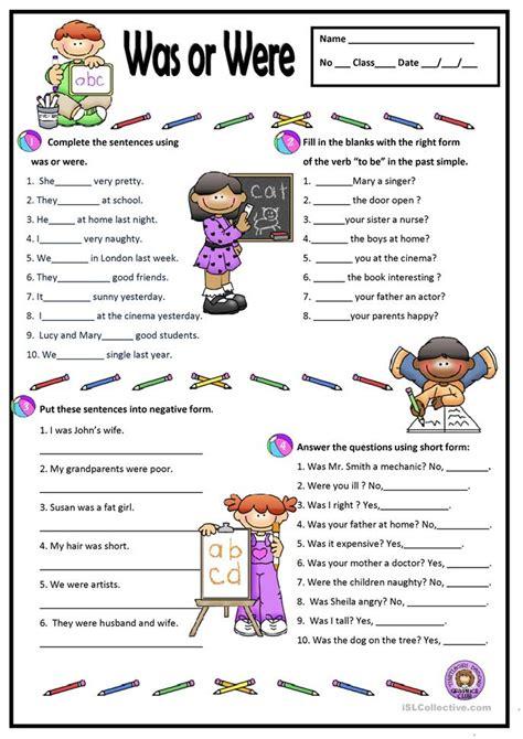 simple   worksheet  esl printable