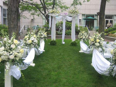 outdoor wedding ceremonies by celebrations design group