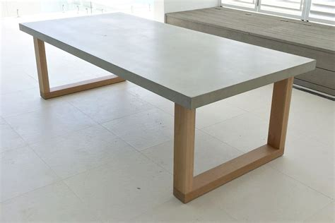 cement top dining table polished concrete dining table woodworking diy project