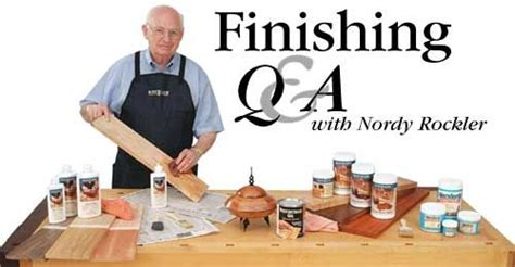 finishing  nordy rockler woodworking  project