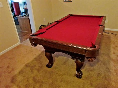 olhausen pool table accufast olhausen gabriel pool table installed in garrett park