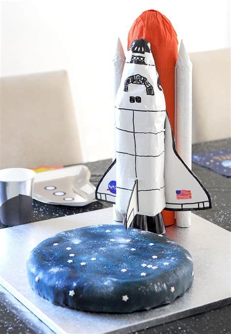 astronauten geburtstagsparty handmade kultur