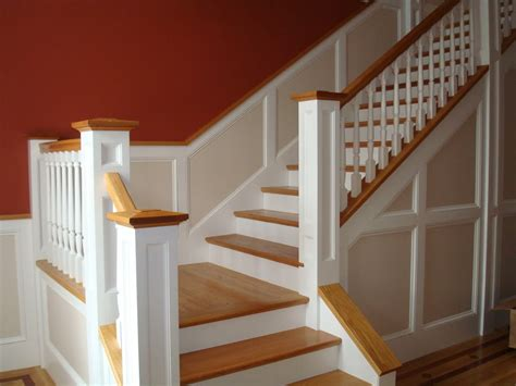 Beadboard Staircase : Help--wainscoting On Stairs