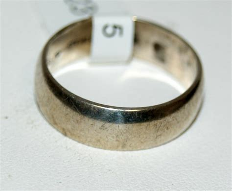 vintage sterling silver uncas wedding band