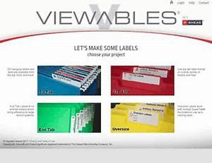 viewablescom make a label smead color viewables With smead label templates