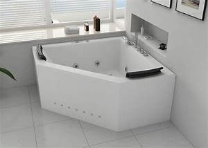 Baignoire Pour Deux : baignoire d 39 angle duo deux places baignoire baln o d ~ Premium-room.com Idées de Décoration