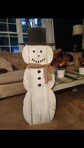 Snowman Pallets and Do you on Pinterest