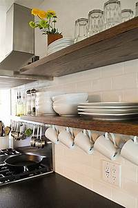 Interesting, And, Practical, Shelving, Ideas, For, Your, Kitchen