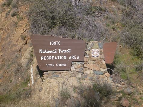 Seven Springs Campground   Tonto National Forest