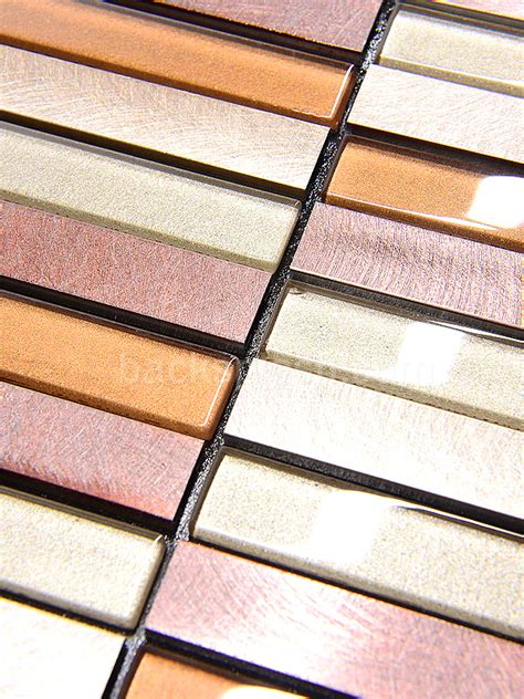 self adhesive metal backsplash tiles backsplash