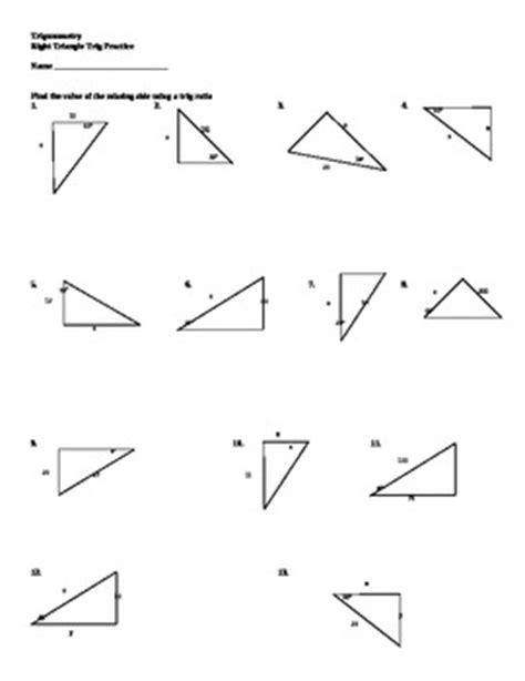 Using Trigonometric Ratios To Solve Right Triangles By Darwin Zimmerman