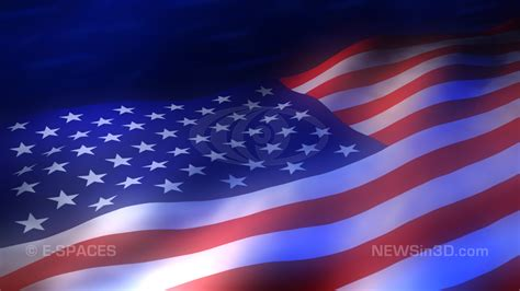 Animated American Flag Wallpaper - custom made 3d high def digital animated backgrounds