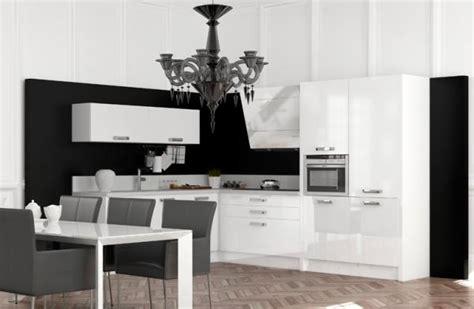 cuisine moderne noir et blanc cuisine schmidt 25 photos