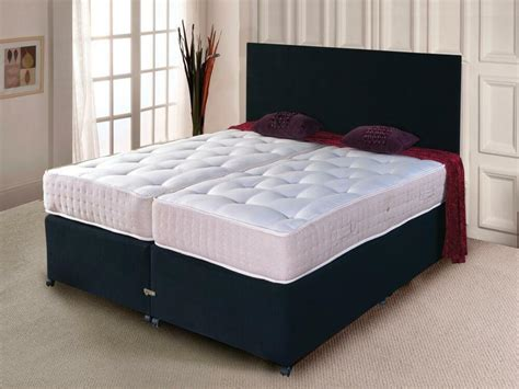 Divan Beds With Headboards by Zip And Link Bed Divan Bed Ortho Mattress And Headboard