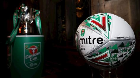Fleetwood to be ball number 13 in Carabao Cup Round One ...