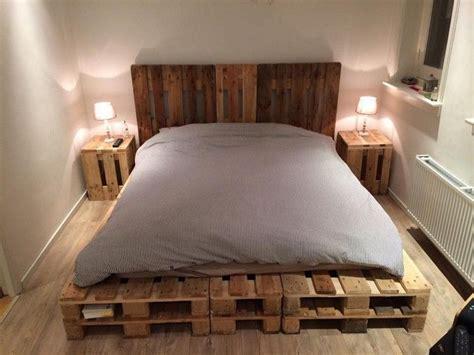 fantastic diy wooden pallet projects diy pallet bed