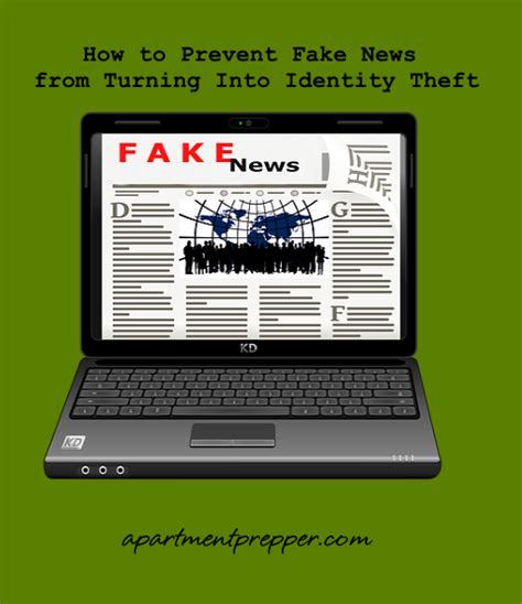 prevent fake news  turning  identity theft