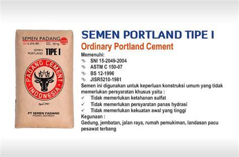 sell portland cement type   indonesia  pt semen