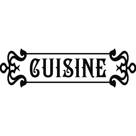 cuisine stickers stickers muraux pour la cuisine sticker cuisine rétro