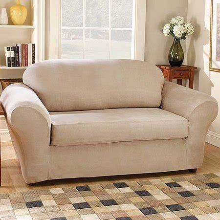 fit suede sofa stretchable slipcovers walmartcom