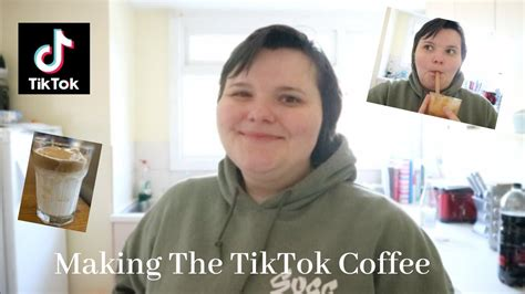Tiktok dalgona whipped coffee at home   frothy cloud coffee today i'm sharing with you. Making The TikTok Coffee - YouTube