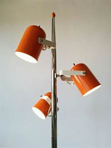1000 images about vintage mid century lamp collection for Red 5 light floor lamp