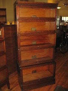 Globe Wernicke Barrister Bookcase Value by Antique Globe Wernicke Mission Oak 5 Stack Barrister