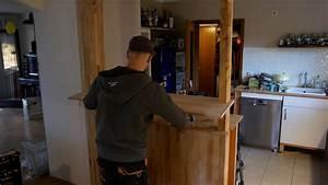 Arbeitsplatte Selber Bauen : theke bar selber bauen made by myself dein diy heimwerker blog ~ Markanthonyermac.com Haus und Dekorationen