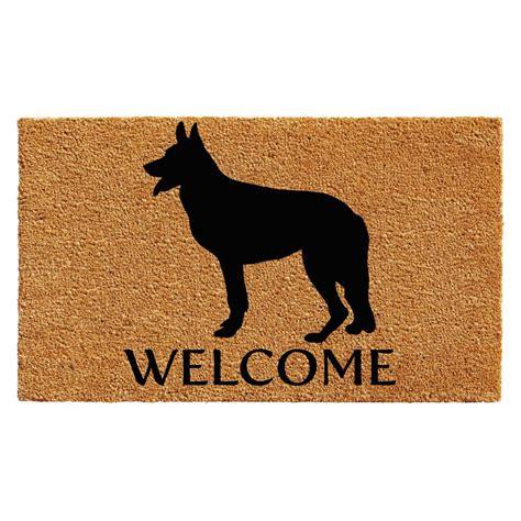 home more german shepherd 24 in x 36 in door mat