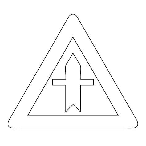 Verkeersborden Kleurplaat by Leuk Voor Voorrangskruising