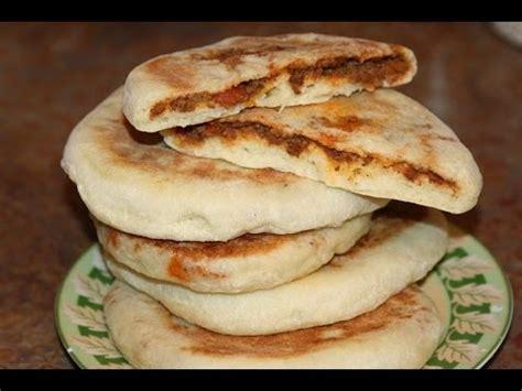 recette de la cuisine marocaine batbout farci à la viande hachée recette marocaine