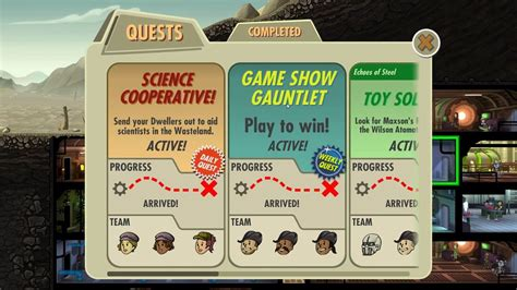 Fallout Shelter Game Show Gauntlet Shelter game Game