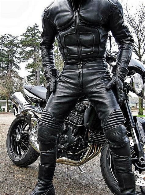 122 Best Leather Biker Images On Pinterest Leather Men