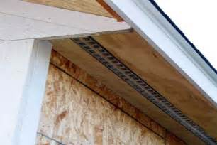 Installing Soffit and Fascia Board