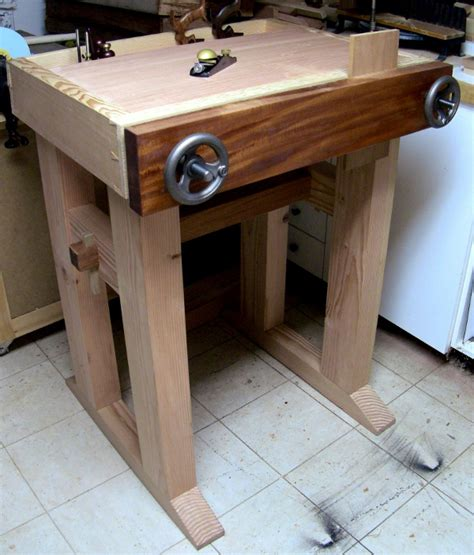 joinery bench completed  renaissance woodworker