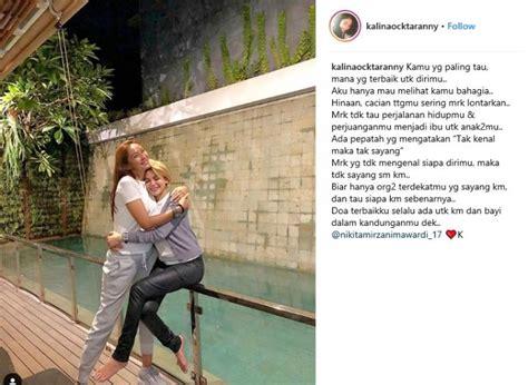 Solid Potret Persahabatan Nikita Mirzani Dan Kalina
