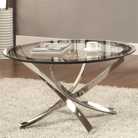 Coffee Table Silver Cocktail Table For Luxury Decor