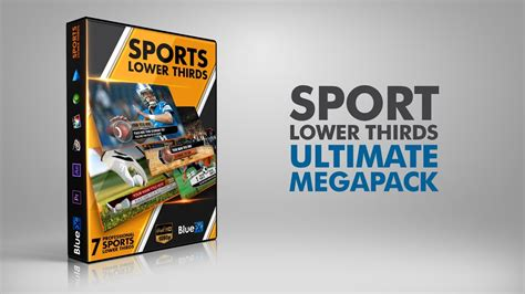 ULTIMATE LOWER THIRD SPORTS PACK after effects template ...