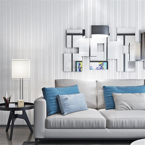 home improvement living room background wall paper