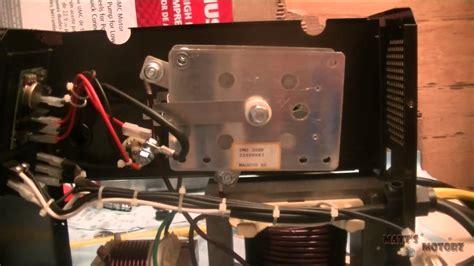 fixing  mig welder rectifier replacement youtube