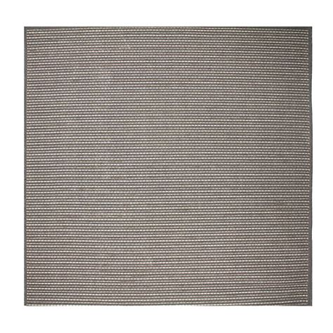 tapis moderne carr 233 pas cher 200x200cm taupe