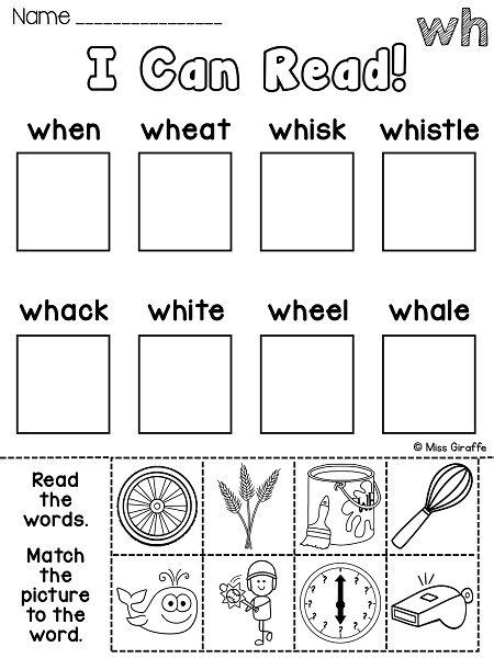 wh worksheets activities no prep activities and