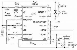 Ionization Smoke Detector Using A5367