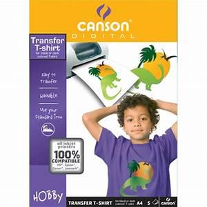 Papier Transfert Tee Shirt : papier transfert pour t shirt tissus fonc 22 x 33 cm ~ Melissatoandfro.com Idées de Décoration