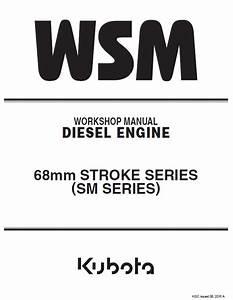 Kubota 68mm Stroke Sm Series Engine Wm Pdf 9y011