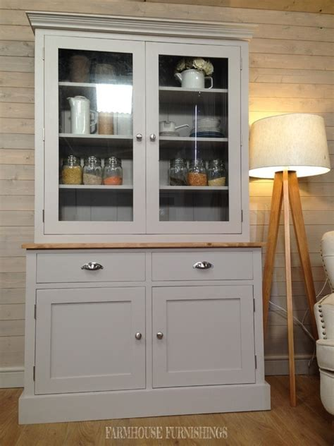 Beautiful Solid Pine Painted 4ft Welsh Dresser, Farmhouse