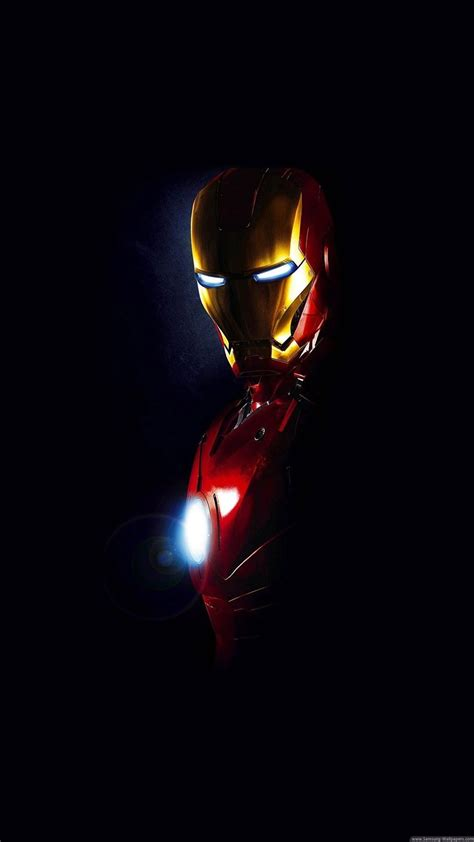 Arc Reactor HD iPhone Wallpapers Wallpaper Cave