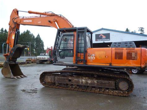 hitachi excavators  sale  bc