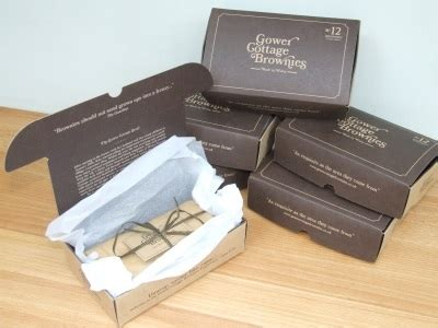 Gower Cottage Brownies by Gower Cottage Brownies 6 Month Subscription Free Gift